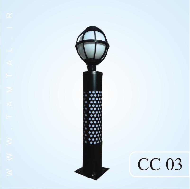 چراغ چمنی cc03