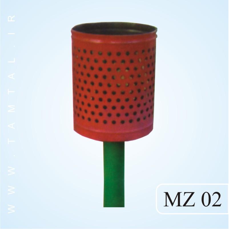 مخزن زباله شهری mz02