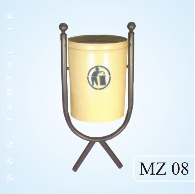 مخزن زباله شهری mz08