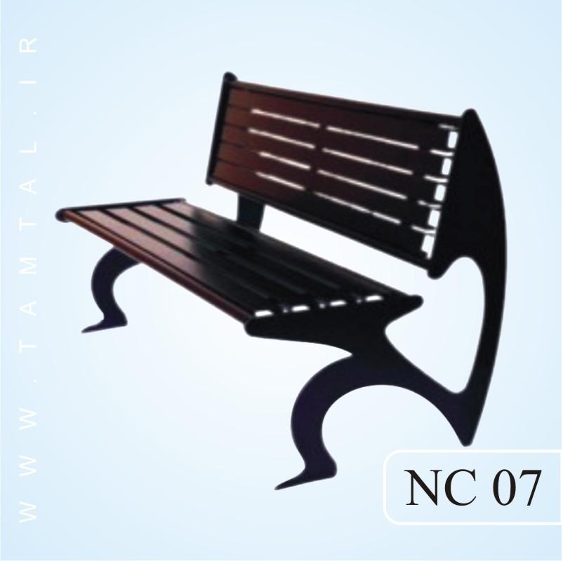 نیمکت پارکی nc07