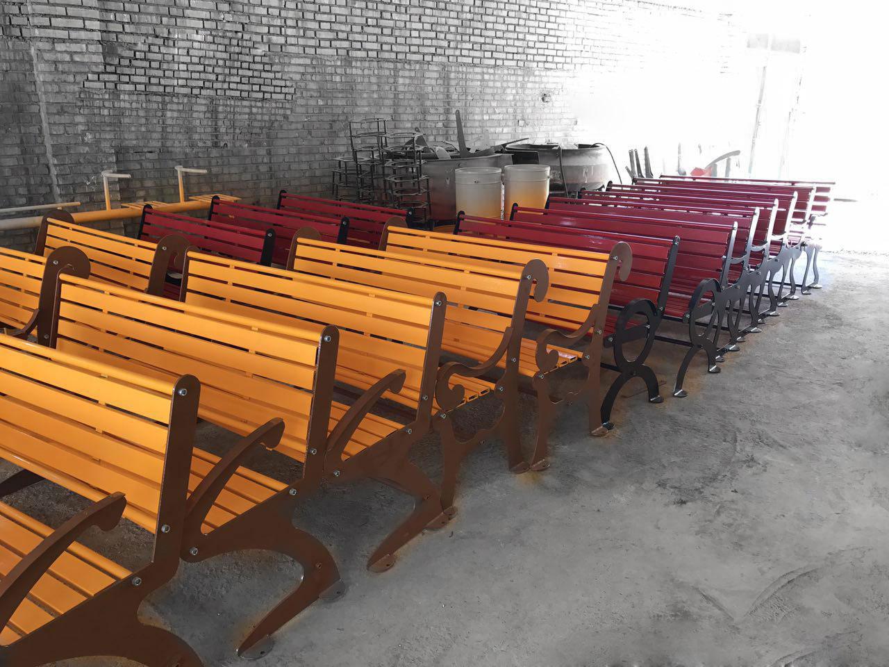 تولید صندلی پارک