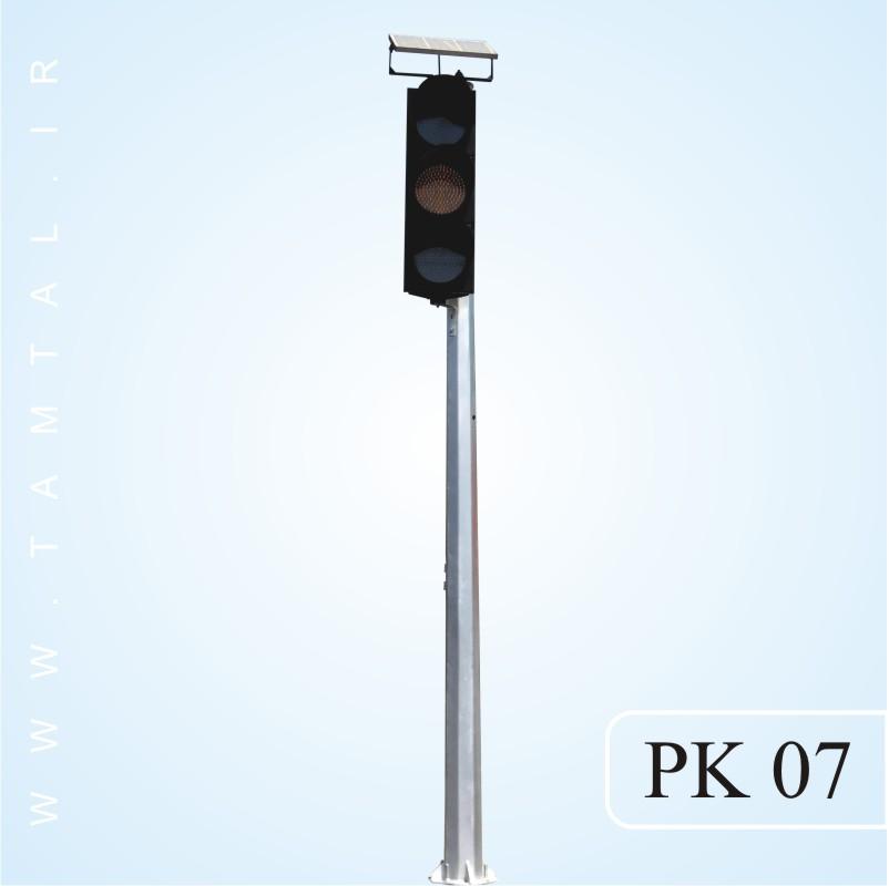 پایه چراغ خیابانی مدل PK 07