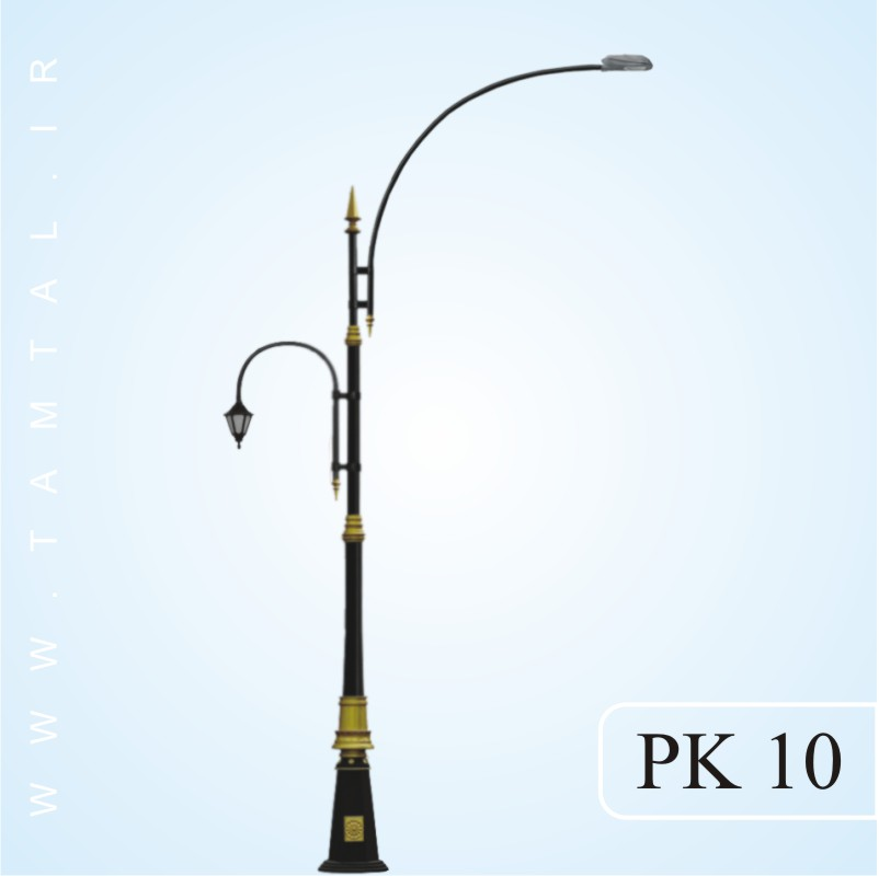 پایه چراغ خیابانی pk10