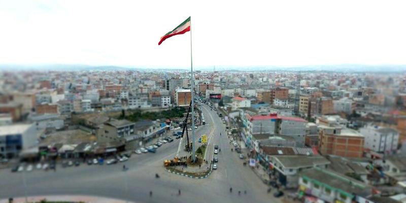 نصب برج پرچم