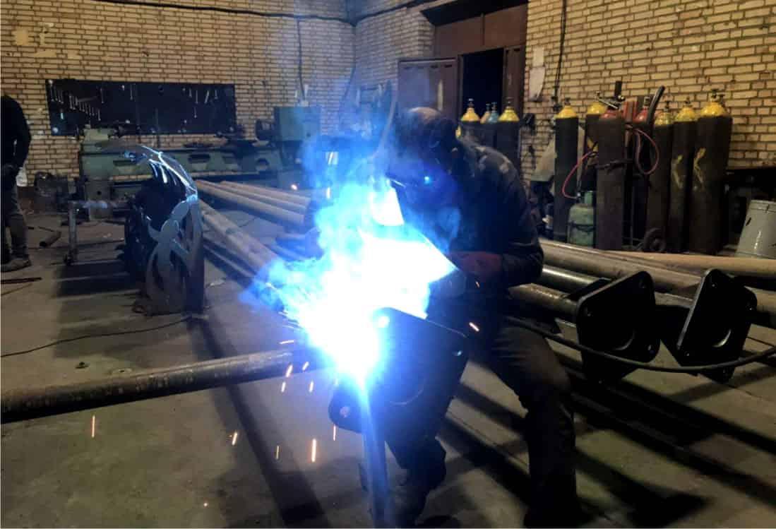 ساخت پایه چراغ